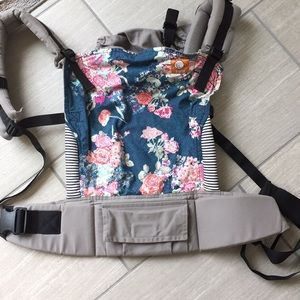 Blue flora Tula baby carrier